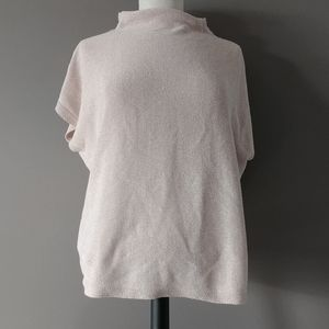 Eileen Fisher boxed knit top